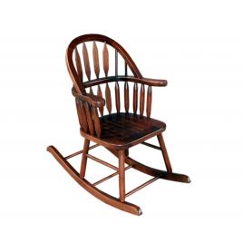 Cadeira de Balanço Country  em Madeira Imbuia