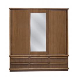 Armário Boleado 2,10m com espelho alt. 2,15m