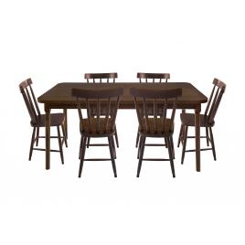 Conjunto de Mesa Brisamar 1,60m com 6 Cadeiras