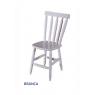 Conjunto de Mesa Torneada Branca 1,20m com 4 Cadeiras Corupixá Branca