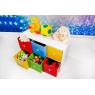 Porta Brinquedos 0,80m com 6 Gavetas Coloridas