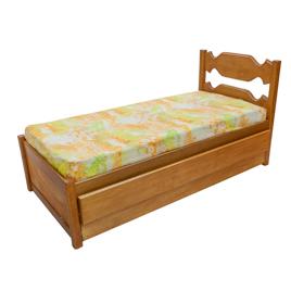 Bicama Solteiro com cama auxiliar Peixe