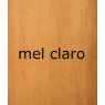 Armário Boleado larg. 2,40m 3 portas de correr com gavetas internas com espelho alt. 2,38m